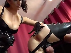 Incredible amateur Femdom, Strapon porn movie