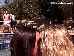 Hottest pornstars Angel Black and Lexxxi Larue in crazy black and ebony, blonde adult movie