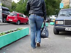 Young fatty woman with nice round ass