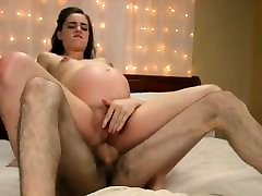 seksi nosečnice lady dobi prekleto rit