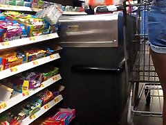 Cute Thick Ass teenie diana facial and Friend Checkout Line