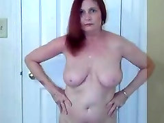 Redhot Redhead Show 9-7-2017 Blowjob and Facial Cumshot
