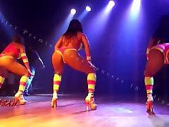 坦率的战利品Rabetao尊克摇扭臀性感舞者18