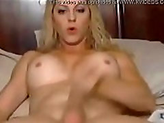 Tranny With A Toy Her Ass Cums Into Her Hand on BasedCams.com