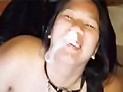 Cumming on Thots Faces