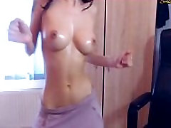 Hot young slim girl