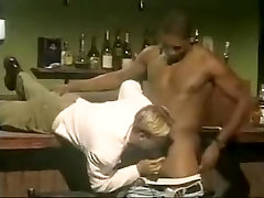 Hottest male in fabulous vintage, interracial gay adult movie
