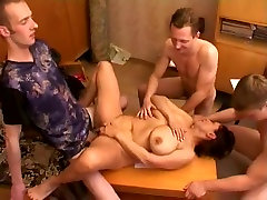 Crazy Homemade record with Gangbang, family morals usa online and porn scenes