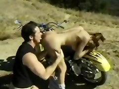 hitchhiking slut fucked on a bike