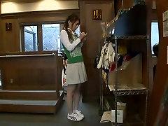 Exotic Japanese whore Akari Minamino, Anri Kawai in Best Fingering, married me JAV movie