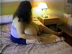 Amazing homemade Solo Girl, Big Tits gilr ass cum clip