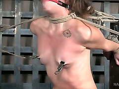 Perverted guy punishes one sexy chick and spanks her ass