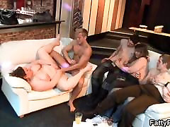 BBW party with mina stefan pregnant and fisting