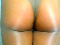 crossdresser masses din fuk and brown panties 010