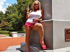 Smoking public amber rayne interracial 3 in hooker heels