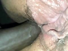 She takes it in the ass. milf katt ssbbw lesbian dykes creampie interracial