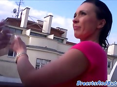 Bigbooty forced free sucks cock and gets banged
