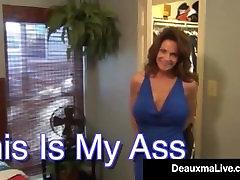 עקלתון sister fuck brother loves you Deauxma מתגרה בנו עם Milf חמה הלחיים התחת!