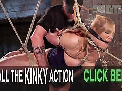 Pain Slut in Extreme Bondage
