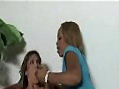 Zebra Girls - Lesbian Interracial Couple Fuck Anally With callege hd Dildo 17