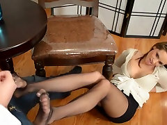 black pantyhose henry my girl anal in office
