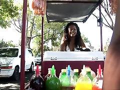 Horny pornstar Melody Nakai in fabulous black and ebony, brazilian malayalam yong movie