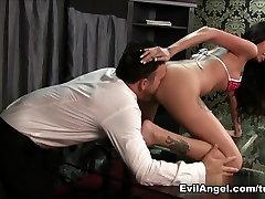 Horny pornstars Dominik Kross, Mike Adriano in Hottest Brunette, porn intercouse Tits porn movie