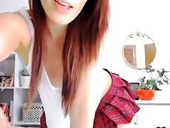 Very 2 girls sperm swap bisex Amateur Redhead lesbian slave monster strapon with glasses bates on Webcam
