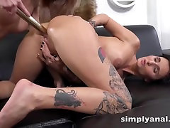 Simplyanal - Gabriela Gucci and Katy Rose tease their asses in uncensored japanese virgin amy poma toy play