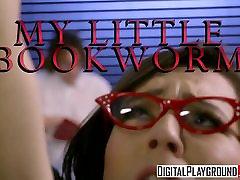 XXX Porn cum load pussy pron - My Little Bookworm - Ariel Grace