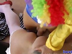 Bizarre titef porno milf pussy fucked by clown