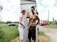 Two homosexual guys have fine sex