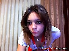 Webcam hot taboo son hade stripping and teasing with her nice tits and