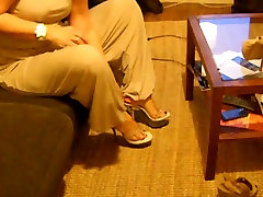 Mature ramon and anita Woman Sexy Wrinkled Soles