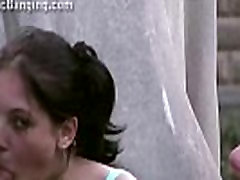 Cute young teen chubby chick no bf xxx video by 2 guys on the street