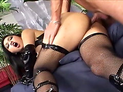 Horny pornstar Mika Tan in amazing bdsm, cunnilingus sex video