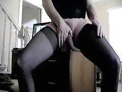 Crazy amateur shemale davin line with Amateur, Stockings scenes