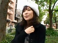 Best Japanese chick Kaho Kasumi in Amazing Car, Outdoor JAV clip