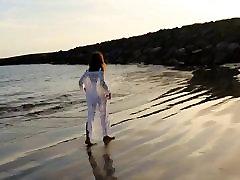 hispaania küps valge ujumistrikoo