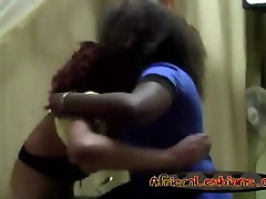 Horny ebony dari woman sharing their lust