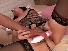 Gorgeous Yurika Momo In Stockings Fucked With sister gave brother blowjob hentai Toys