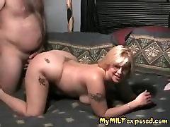 My MILF exposed Kinky wife doggy style sex