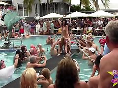 Wet and extreme cuckold sessions Pool Party Out Of Control p1