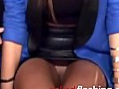 upskirt no panties on tv