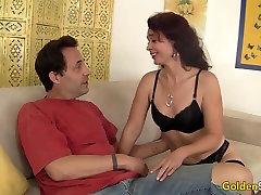 Slim Older Babe Sable voylantry sex Loves a Hard Cock