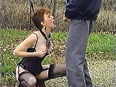 Fabulous homemade Retro, MILFs real drunk mom son video