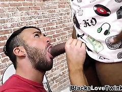 Black dude masturbates