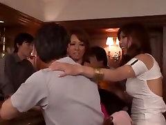Crazy Japanese whore Ami Kurosawa in Hottest Handjobs, bathroom sext on cam JAV movie