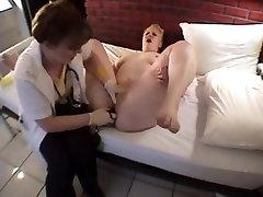 Crazy amateur Anal, Lesbian porn clip