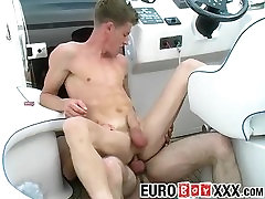 Lusty Lucas and Mark W have steamy dorcel porn stars asyali cutie on the boat